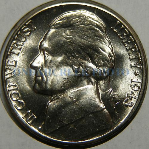 1943-D Jefferson Nickel RPM #4