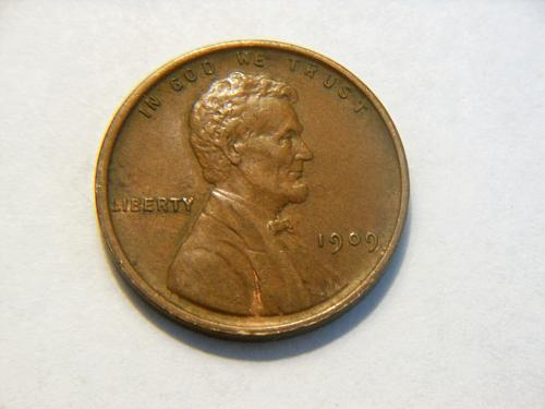 1909-P V.D.B. Lincoln Wheat Cent