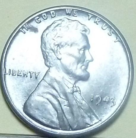 1943-P Uncirculated Lincoln Wheat Cent  UNC ( A114)