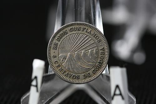 1964 Republica De Nicaragua 5 Centavos