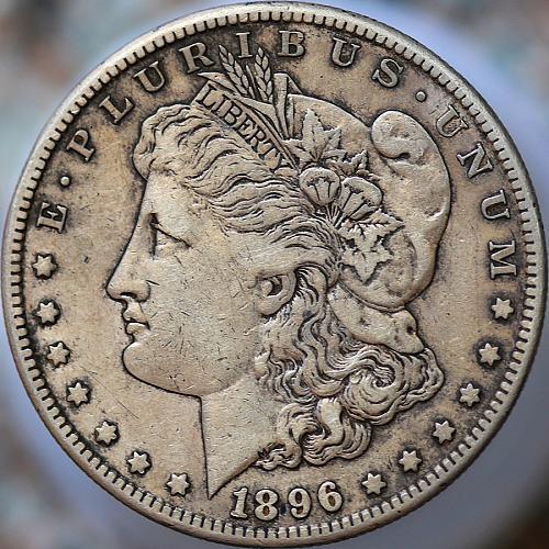 1896 S Morgan Silver Dollar - XF / EF / Extra Fine