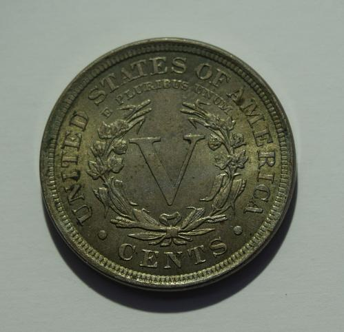 1906 P Liberty Head V Nickel