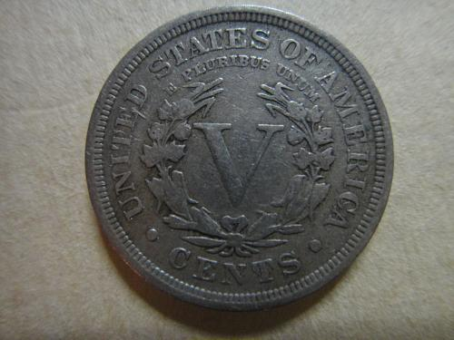 "1909 Liberty ""V"" Nickel Very Fine-20"