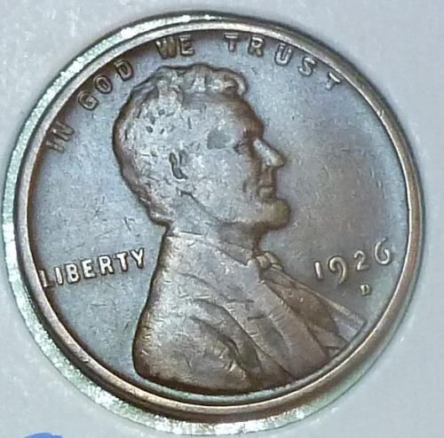 1926-D Very Fine  Lincoln Wheat Cent ( R115)