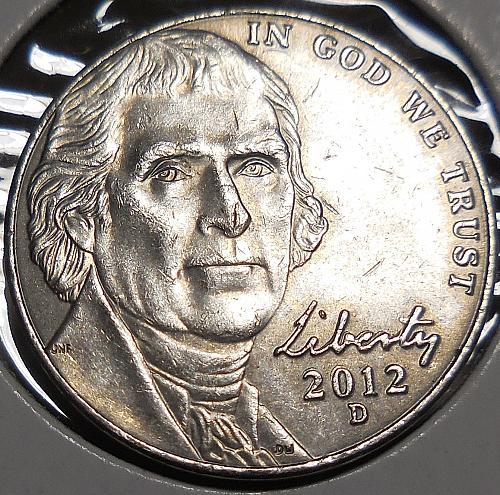 2012-D Jefferson Nickel