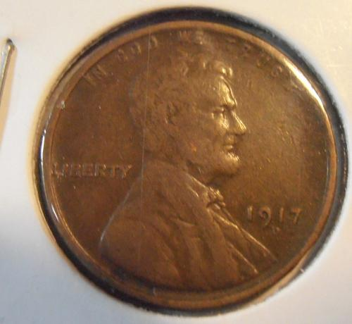 1917 D Lincoln Cent F/VF (17DLR1)