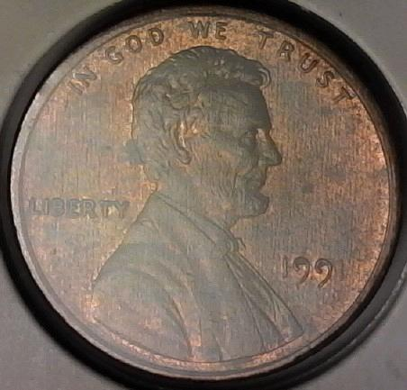 1991 Lincoln Memorial Cent
