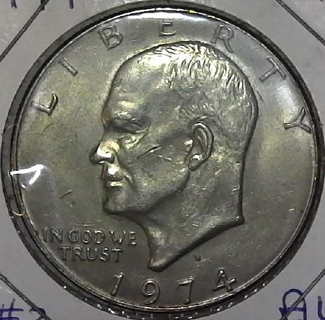 1974 D Eisenhower Dollar Coin #2