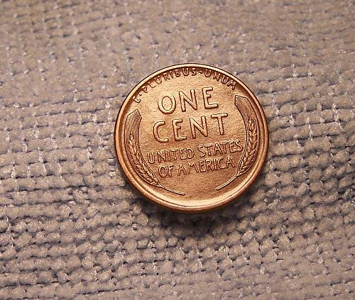 1912s  LINCOLN CENT xf