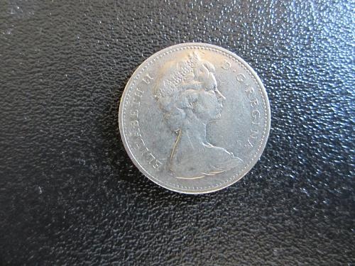 1968 Canadian Nickel Great Shape
