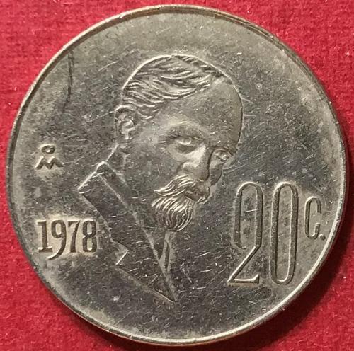 Mexico 1978 = 20 Centavos [#2]