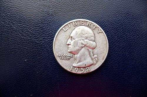1958 Washington Quarter