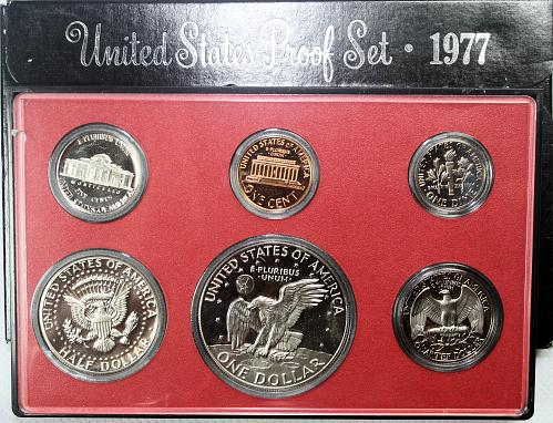 1977 S Proof Set