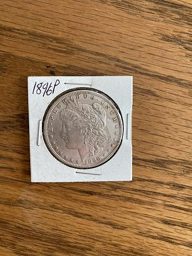 1896 Morgan Dollar P