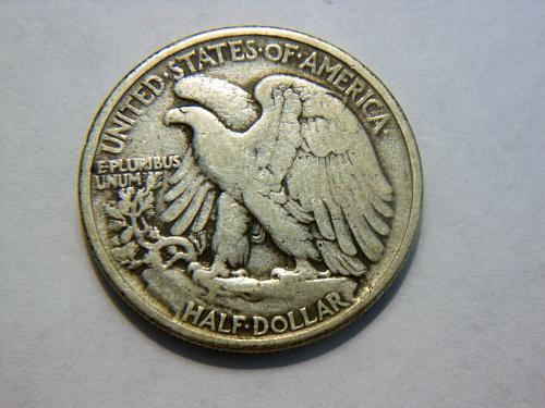 1941-P Silver Walking Liberty Half Dollar.