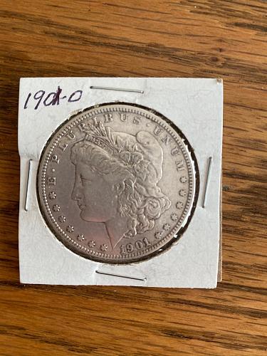 1901 Morgan Dollar O