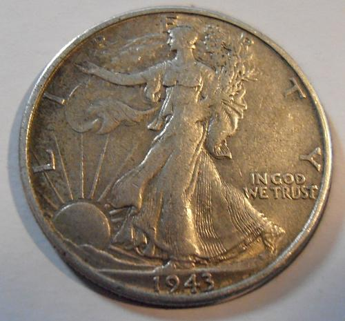 1943 S Walking Liberty Half Dollar (43SAC1)