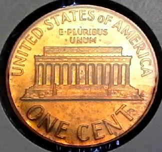 1965 Lincoln Memorial Cent SMS Special Mint Set Coin #2