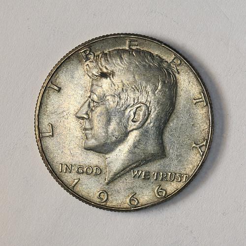1966 Kennedy AU 40% Silver