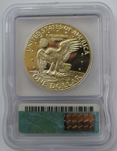 1974 S $1 Silver Eisenhower Dollar Proof ICG PR69 DCAM
