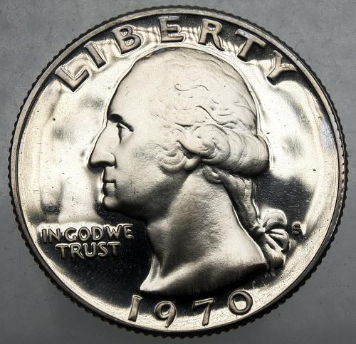 1970 S Washington Quarter#14
