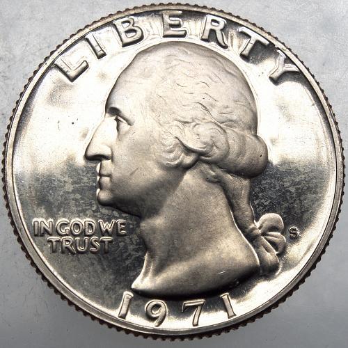 1971 S Washington Quarter#14