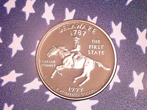 1999 S Delaware Clad Proof