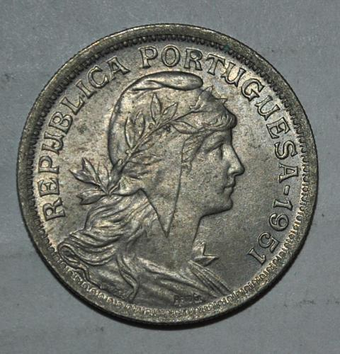 Portugal 50 Centavos 1951