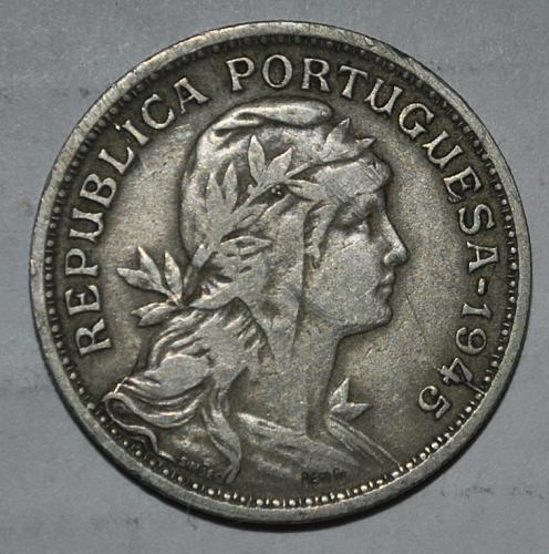 Portugal 50 Centavos 1945