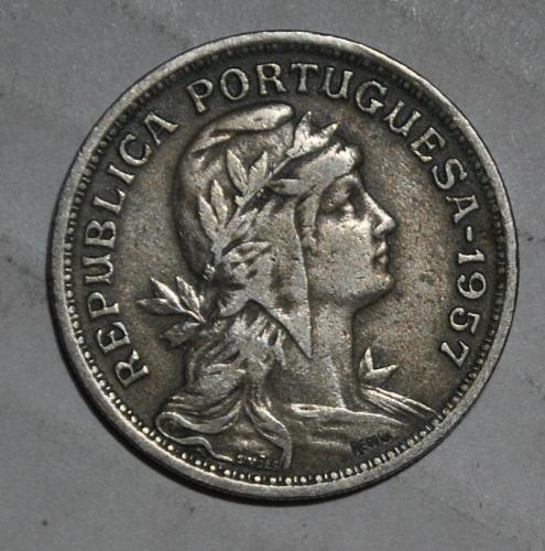 Portugal 50 Centavos 1957