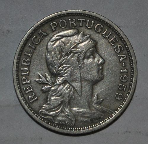 Portugal 50 Centavos 1959