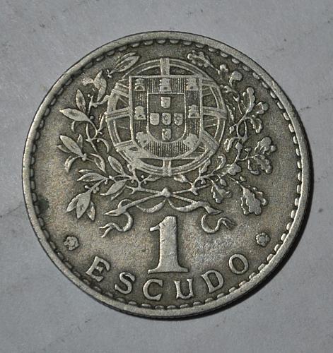 Portugal 1 Escudo 1957