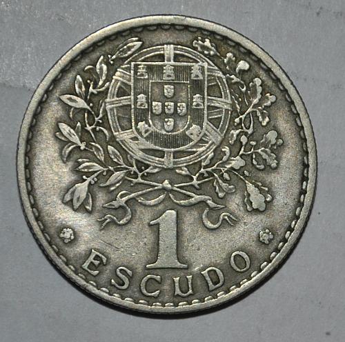 Portugal 1 Escudo 1966