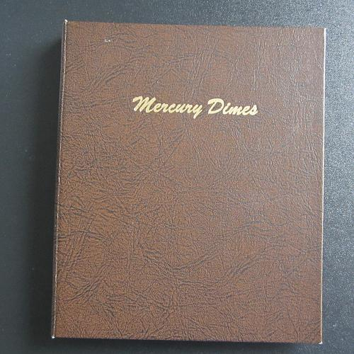 Empty Used Mercury Dime 1916-1945 Gently used  Dansco 7123