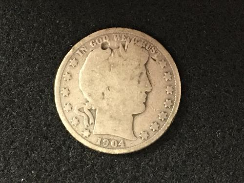 1904 S Barber Half Dollar Better Date Combined Shipping