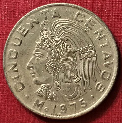 Mexico 1975 = 50 Centavos [#2]