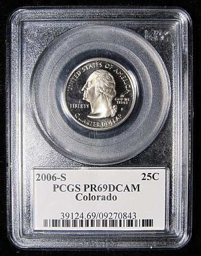 2006-S COLORADO QUARTER-PCGS PR69 DEEP CAMEO