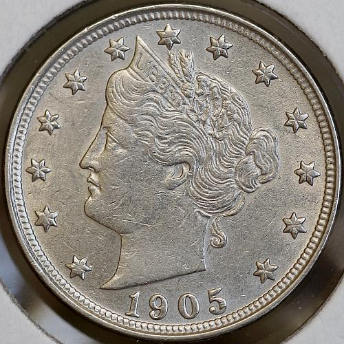 1905 Liberty V Nickel - Choice BU / MS / UNC