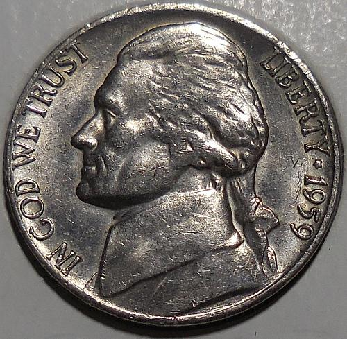 1959-D Jefferson Nickel