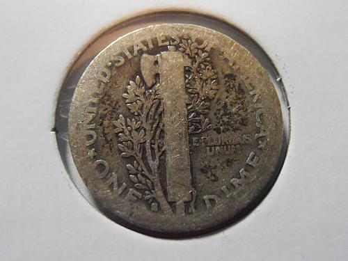 1917 S Mercury Silver Dime (17SAC5)