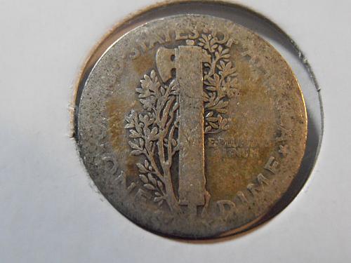 1917 P Mercury Silver Dime (17PAC4)
