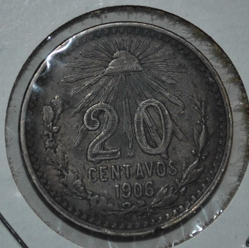 Mexico 20 Centavos 1906