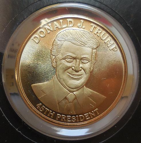 2017 Trump Commemorative Coin