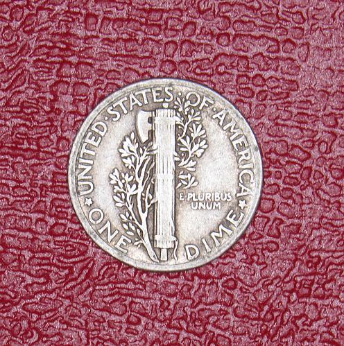 1935P Mercury Dime