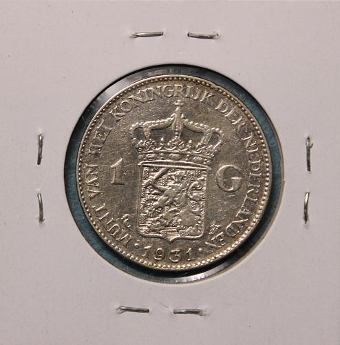 Netherlands 1931 1 Gulden