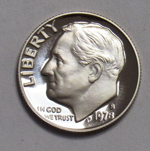 1978 S Proof Roosevelt Dime