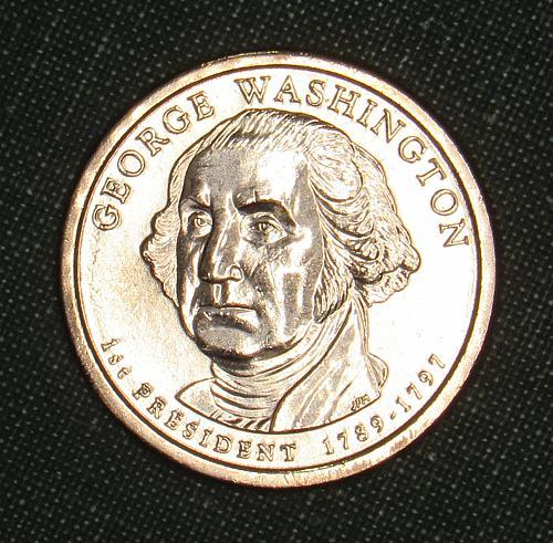 MS 2007D George Washingto dollar