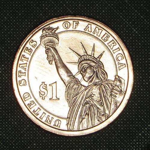 MS  2007D Madison dollar
