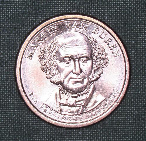 MS 2008D Martin Van Buren dollar