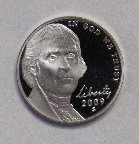 2009 S Proof Jefferson Nickel